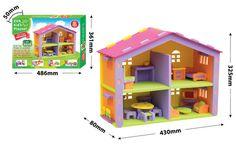 Kućića za lutke / foam dollhouse