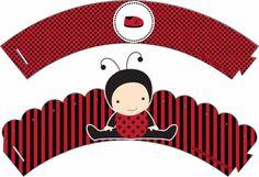 Casinha de Criança: Kit Chá de Bebê Joaninha Para Imprimir Grátis