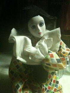 Harlequin Doll Pose