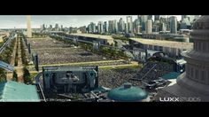 LUXX Studios - Independence Day Resurgence - Visual Effects VFX Breakdown on…