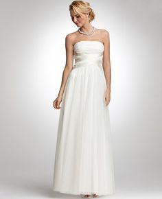 Petite Georgina Tulle Strapless Wedding Dress