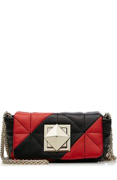 35e6636cff SONIA RYKIEL Quilted Leather Shoulder Bag.  soniarykiel  bags  shoulder bags   hand bags  leather  lining