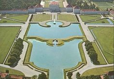 Nymphenburg #castle #Munich from above