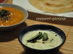 South Indian coconut chutney