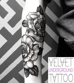 13 Best Rose Tattoos at Velvet Underground Tattoo images in