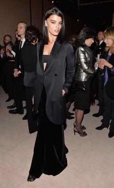 Crystal Renn Evening Coat - Crystal Renn Looks - StyleBistro