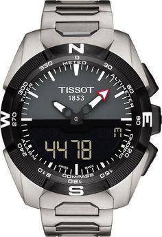 Tissot Watch T-Touch Expert Solar #alarm-yes #basel-15 #bezel-fixed…