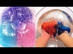 YouTube Glitter Slime, Slime Videos, Slime Recipe, Diy Slime, Oddly Satisfying, My Little Pony Friendship, Science For Kids, Arts And Crafts, Kawaii