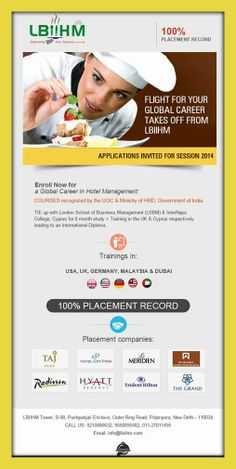 #LBIIHM 100% Placement Record!!!!!! http://www.lbiihm.com/training-a-placements/our-partners