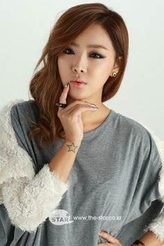Brown Eyed Girls' Narsha is the female celebrity who's best at telling dirty jokes? #allkpop #kpop