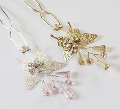 Hanbok Binyeo Butterfly Korean Traditional Hair Pin Stick Girl Women Accessory #Fairycloset #SticksPicks