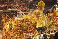 Acadêmicos do Grande Rio Carnaval Rio de Janeiro Carnival 2010 Carioca Brazil Brasil samba by SeLuSaVa, via Flickr