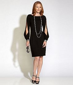 JS Collections Fringe Lace Dress roaring 1920&39s Dillards  My ...