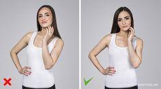 Dicas para escolher a melhor pose para as fotos