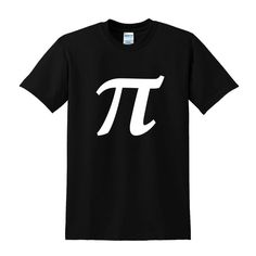 Pi Symbol Graphic T-shirt Funny Nerd Clothing Geek Chic Math Symbol