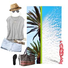 """Rafe """"Playa"""" tote in a set titled """"Bring on SUMMER......"""" by becksd78 on Polyvore"""