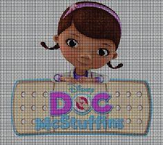 Doc mcstuffins cross stitch