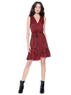 1af25c7d42 BROOKS FIT FLARE COCKTAIL DRESS - RED Summer Formal Dresses