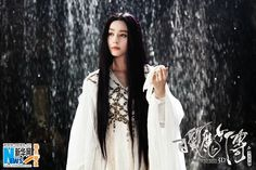New stills of Fan Bingbing in 'The White Haired Witch of Lunar Kingdom' | China Entertainment News