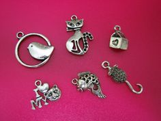 31 Cat Themed Charms. Starting at $7 on Tophatter.com!    http://tophatter.com/auctions/16592  Sat Mar 2 10 PM EST
