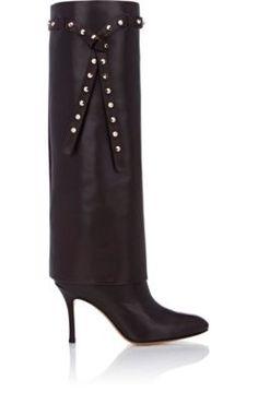 Valentino Studded Knee Boots at Barneys New York