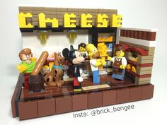 cheese shop's top customers #64slicesofamericancheese by brick_bengee