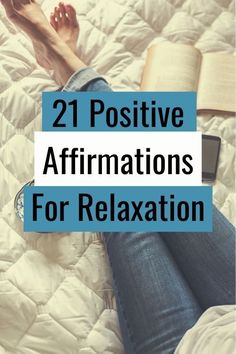 Fill your mind with these positive affirmations for relaxation. There are 21 examples and tips to help you make the most of these positive messages Breath In Breath Out, Positive Messages, Subconscious Mind, Anxious, Positive Affirmations, Law Of Attraction, Over The Years, Letting Go, Fill