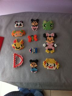 Wow, look all of these lovely Aquabeads creations