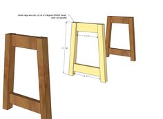 Ana White | Build a Rustic Double X Bench | Free and Easy DIY Project and Furniture Plans