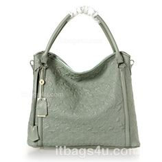 05a0e9f8a7 Louis Vuitton Lambskin Leather Antheia Ixia GM - Grey 97066  219.00 Louis  Vuitton Hobo Bag