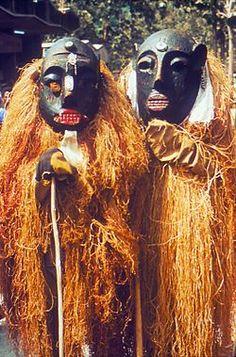 Two Lassa Witch doctors - healing ritual