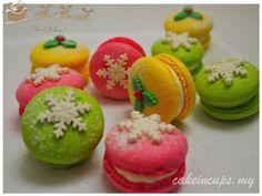 Christmas Macarons #christmasmacaroons #christmasmacarons