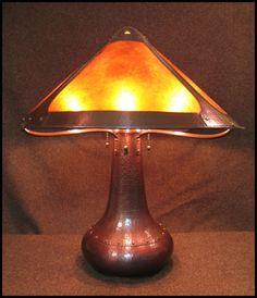 Craftsman Copper - Rivet Base Table Lamp, $2750
