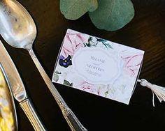 English Garden Floral Slide Favor Box With Tassel (Set of 24) | My Wedding Favors