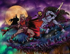 HORDAK VS SKELETOR animated by ChrisFaccone.deviantart.com