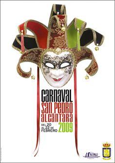 Cartel del Carnaval de San Pedro de Alcántara del año 2009 #Malaga #carteles #SanPedro #Marbella #carnaval #CarnavalMLG