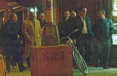 Rare picture of genovese members leaving a Christmas party thrown by punchy illiano in the mid 2000s , 2nd left is jailed genovese capo Anthony palumbo . Also in the picture is the Masullo brothers , one of whom felice was proposed for membership in 2007 before all three brothers were nabbed on a variety of drug, money laundering, loansharking and other racketeering charges