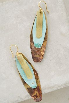 Aurora Earrings #anthropologie ... My favorite jewelry designer ! Already part of my jewelry stash !