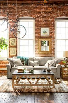 Jules sofa for Ultimate Comfort, Coffee Table, Windows, Bike