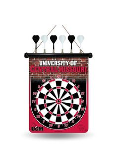 Central Missouri Mules Magnetic Dartboard Game