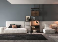 Sectional furniture for the living area: Set by Twils