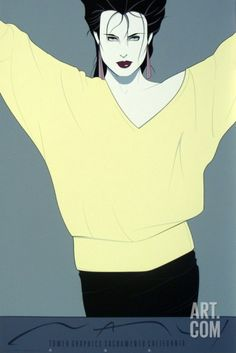 Patrick Nagel: Commemorative No. 8