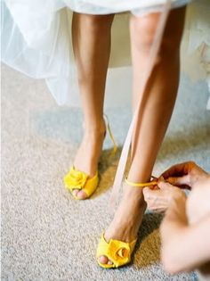 yellow wedding shoes best wedding ideas collection