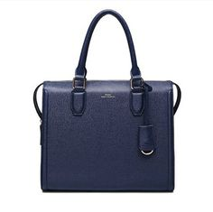 If you are wondering what to buy.here is an idea:) Stylish Top Zip Closure Insider Zipper Pocket Leather Handbags Blue