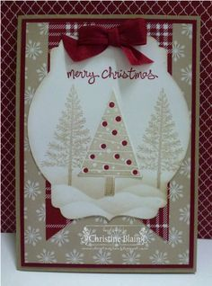 Festival of Trees, Trim the Tree Paper Stack Stampin' Up! Shop on Stampin Up Here!