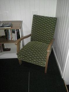 Silky Oak armed Libaray chair 3