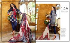 Charizma Embroidered Lawn Collection vol-2 2017 Dresses