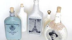 Transferência de Imagem para Garrafa de Vidro Passo a Passo | Reciclagem no Meio Ambiente – O seu portal de artesanato com material reciclado
