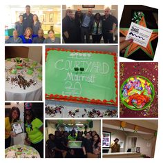 Our Courtyard by Marriott Brown Deer, WI hotel celebrated the brand's 30th birthday in style!