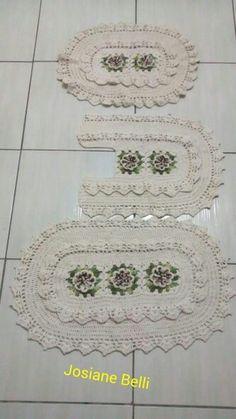❤ Beautiful Crochet, Rugs, Home Decor, Cute Crochet, Farmhouse Rugs, Decoration Home, Room Decor, Home Interior Design, Rug